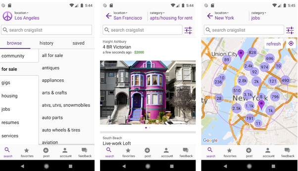What is the best Craigslist app for Android? - Quora
