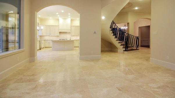 Travertine Floor Tiles Are an Excellent Option