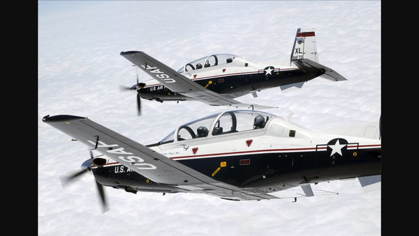 Does the US Air Force still use single-engine airplanes (with a