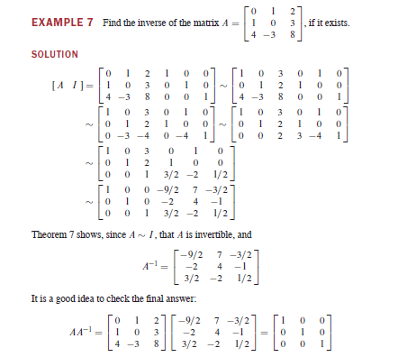 What is the difference between 'matrix inverse' and ...