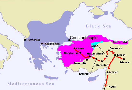 What if the byzantines defeated the turks quora alexios successor and son john is very under recorded but he took control of the southern coast of anatolia and cillicia after his death his son manuel publicscrutiny Choice Image