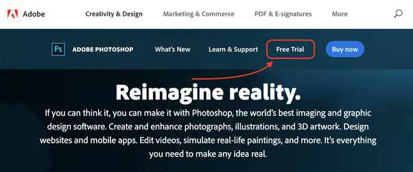 How can use Photoshop CC full version for free? - Quora