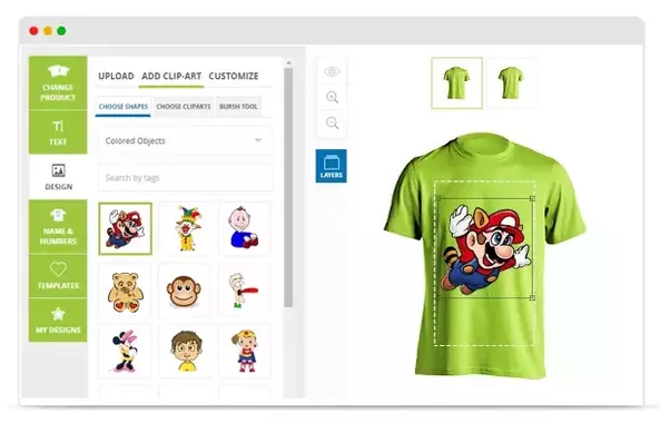 Which company provides custom t-shirt design modules? - Quora