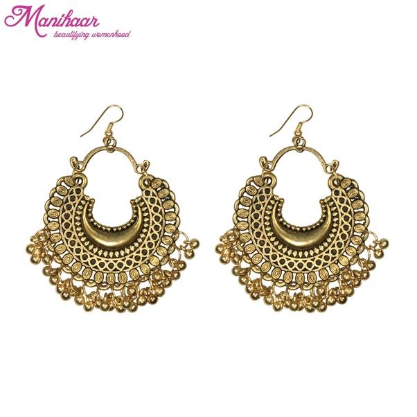 2 Oxidised Silver Earrings