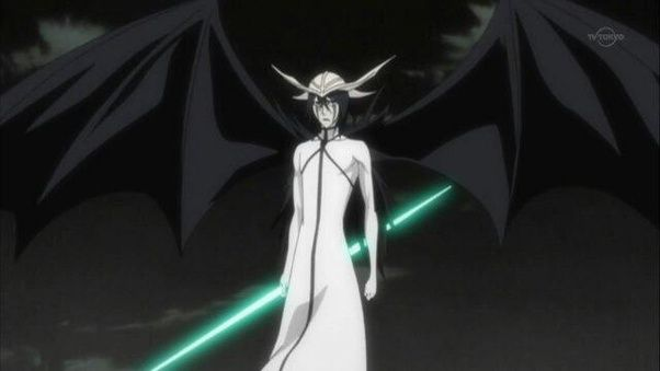 Ichigo Now Fights Him With His Hollow Mask On But Still Finds Himself Heavily Out Classed By Foe Ulquiorra Easily Destroys Ichigos Several Times