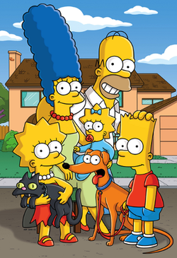 Initially My The Simpsons Were Black And White But For Television I Needed Color Do Not Like That Wild Pink Shade People Usually Paint