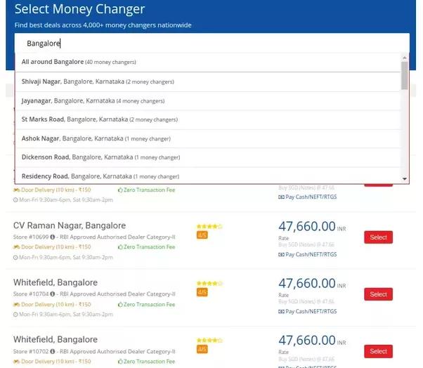Cheap forex bangalore