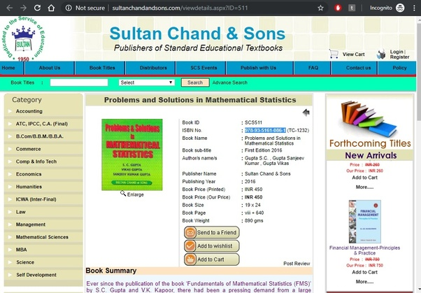 How to get the solution of fundamental of mathematical statistics SC