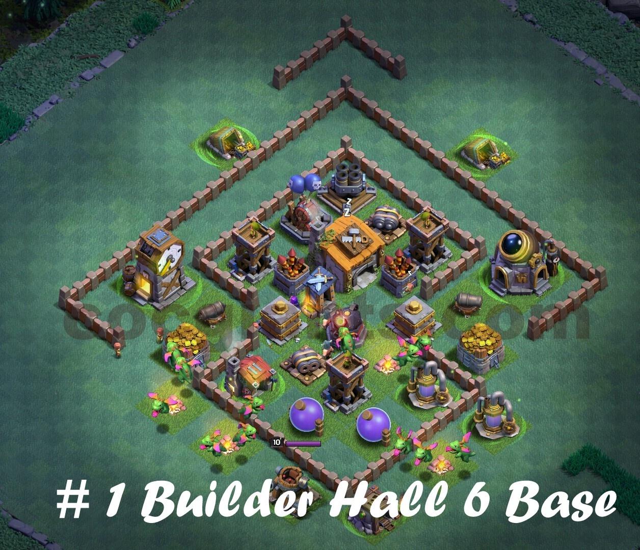 Coc Builder Base Th 6 9