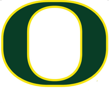The Famous Logo Also Had Something Hidden Behind It Inside Of O Represents Shape Schools Track Hayward Field While Outside