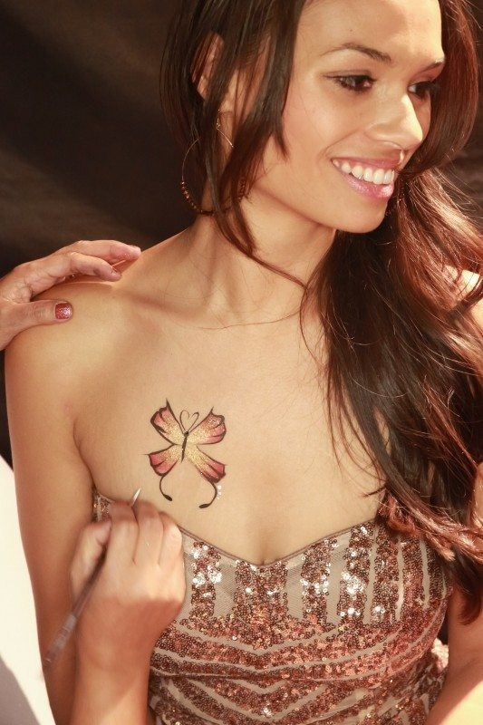 Is it possible to get a temporary ink tattoo? One that only lasts ...