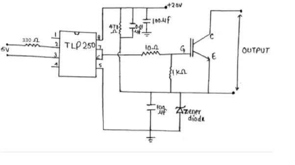 how does a driver circuit work for an igbt