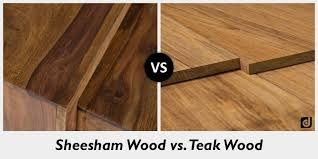 What Is The Deference Between Teak Wood And Rose Wood Quora