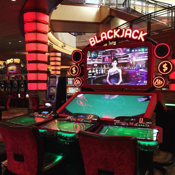 maximum bet on a blackjack machine