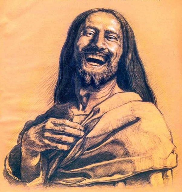 Laughing Jesus Life After Death