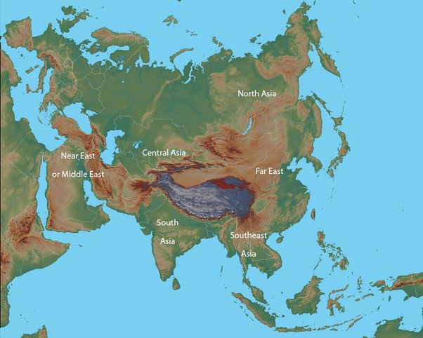 Is Central Asia really the center of Asia? - Quora on map of egypt, map of the far east, map of asia with names, map of asia during the cold war, map of russian far east, map of eastern countries, map of far east countries, map of far east russia, map of strait of suez canal, israel map of the far,