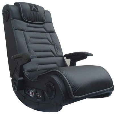 the curved c shape gives relief to your back and spine for longer hours of gaming