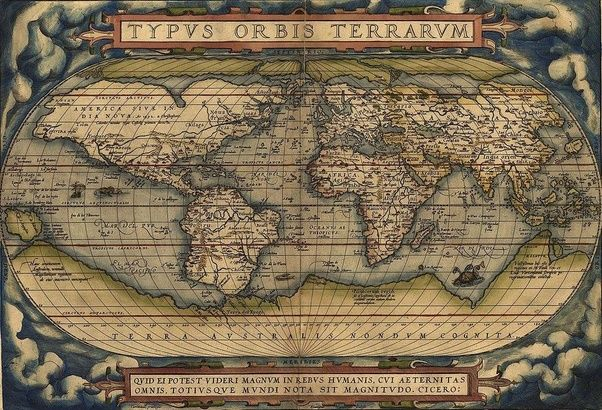 Who created the first world map that is accurate as we know it today ...