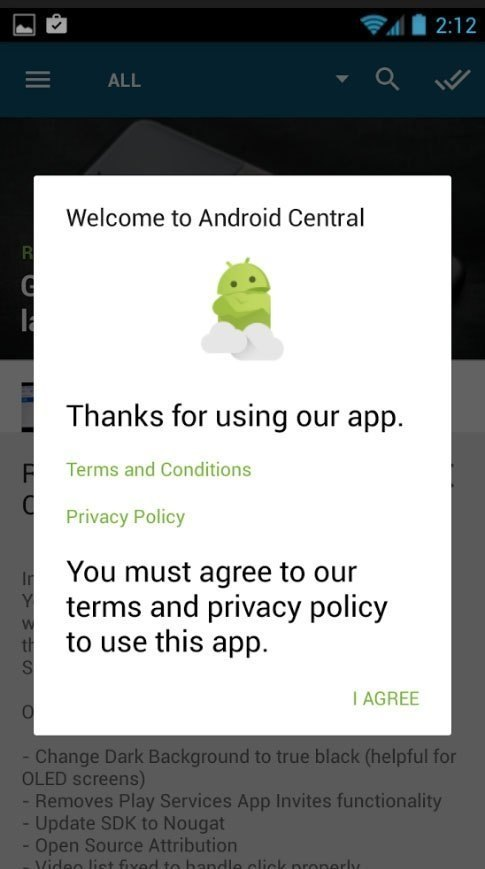 How To Get Rid Of The Google Play Store Privacy Policy When Submit - Android app privacy policy template