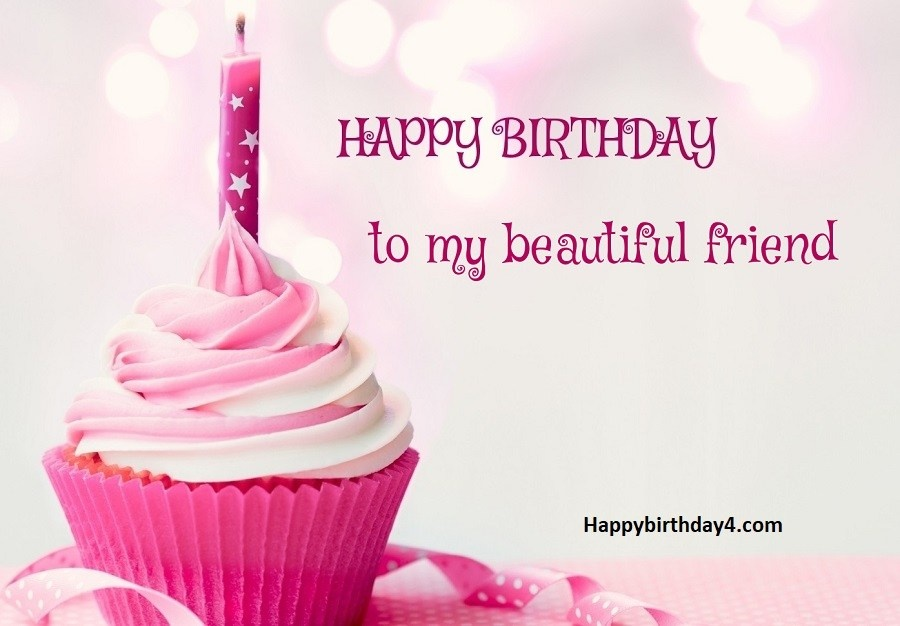 2 Wishing You An Awesome Day With Good Luck On Your Way Happy Birthday Beautiful Friend