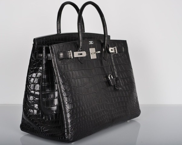 Created As An Homage To British Singer And Actress Jane Brikin This Beautiful Purse From Hermes Is Crafted Top Grade Crocodile Leather Features