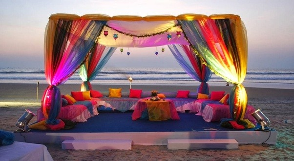How much will it cost to plan a beach wedding in lakshwadeepgoa contacts of goa wedding planners junglespirit Image collections
