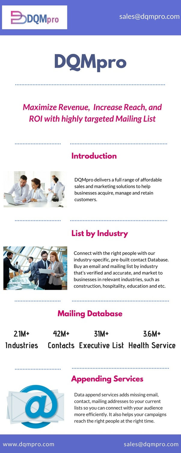 Who are the best email list providers in the USA? - Quora