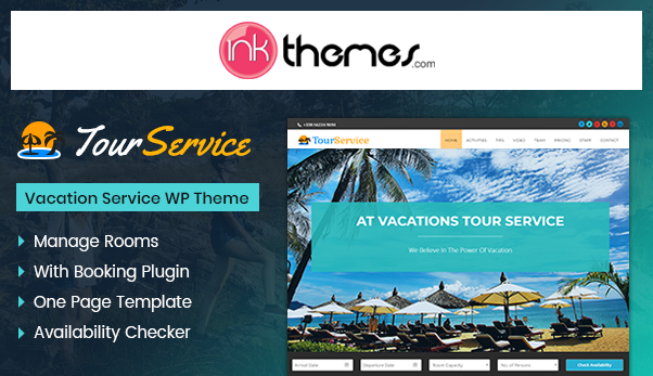 is there a wordpress theme for a website that lists vacation