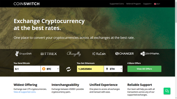 best exchange rate for cryptocurrency