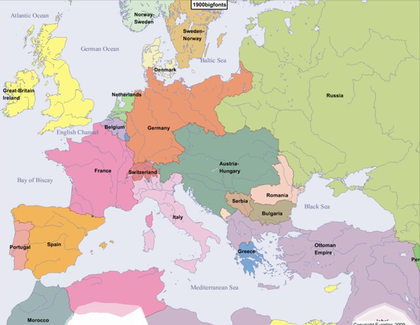 If world war one and two had never happened what would the world also in this alternate history there is an alliance between great britain france and russia and germany austria hungary and italy sciox Images