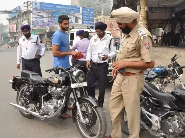 is there any rule challan for people who modified their bullet