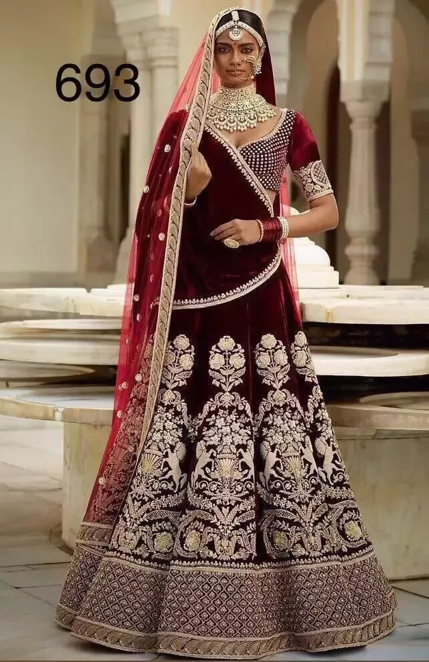 How much does a sabyasachi bridal lehenga cost quora for How much is a custom wedding dress