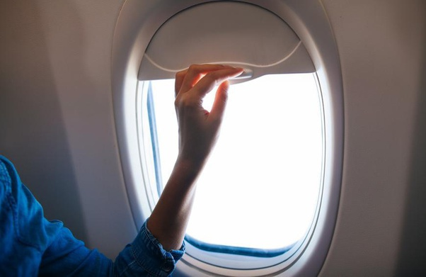 Why Do Crew Members Request To Keep Window Shades Open In