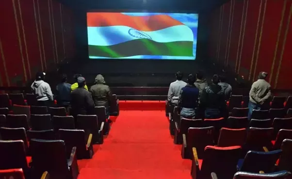 Whats the most bizarre thing thats happened to you in a movie before the start of a movie irrespective of its genre the movie theaters in india look like this altavistaventures Images