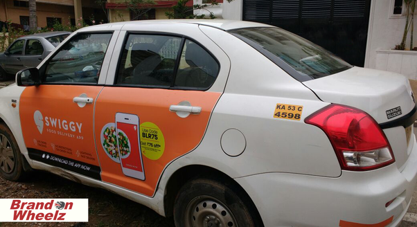 swiggy car advertising
