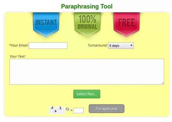 What is the best paraphrasing software quora you will need to enter your text into online editor leave your e mail address and choose the turnaround from 12 hours to 5 days ccuart Images