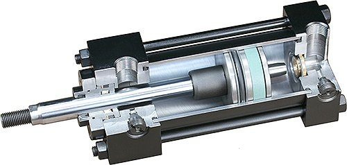 Why Does A Hydraulic Cylinder Piston Rod Rotate While
