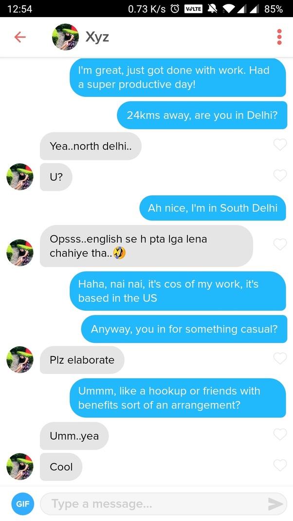 Indian hookup