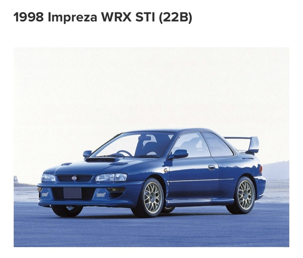 What is the best year of the Subaru STi? - Quora