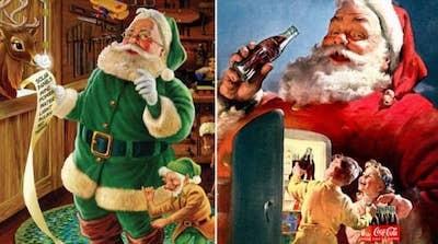 Babbo Natale Coca Cola 1931.Come Mai La Figura Di Babbo Natale E Legata Alla Coca Cola Quora