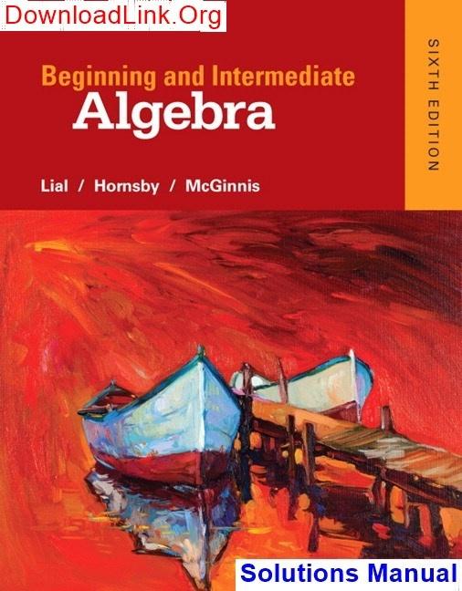 Intermediate Algebra Sullivan 2nd Edition Pdf