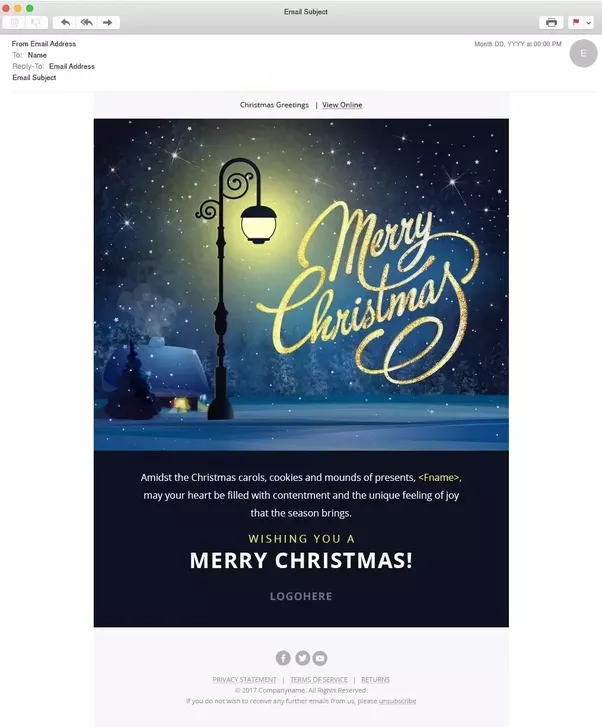 New Year Email Template | Where Can I Find Great Looking Christmas And Happy New Year Related
