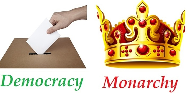 democratic government and monarchy The most common form of government from ancient times to the early part of the 20th century was monarchy, or rule by a hereditary king or queen monarchy passed through three basic stages, varying according to the nation and the political and economic climate.