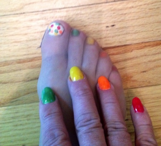 Nails toe sexy painted Are Most