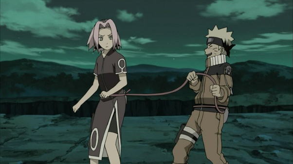 Sakura and hinata tied up