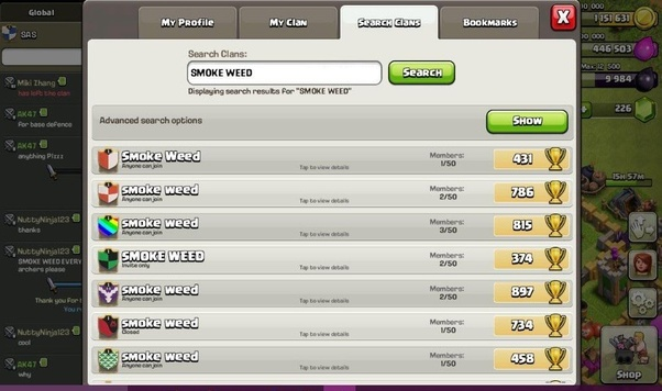 What are some Clash of Clans clan names? - Quora