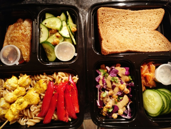If you want to spend less than 10 bucks : plan ahead. Make 3 or 4 meals at  a time and use the remaining ones as lunchboxes.