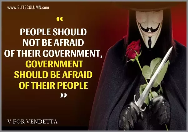 Link 12 V For Vendetta Quotes To Send Chills Down Your Spine