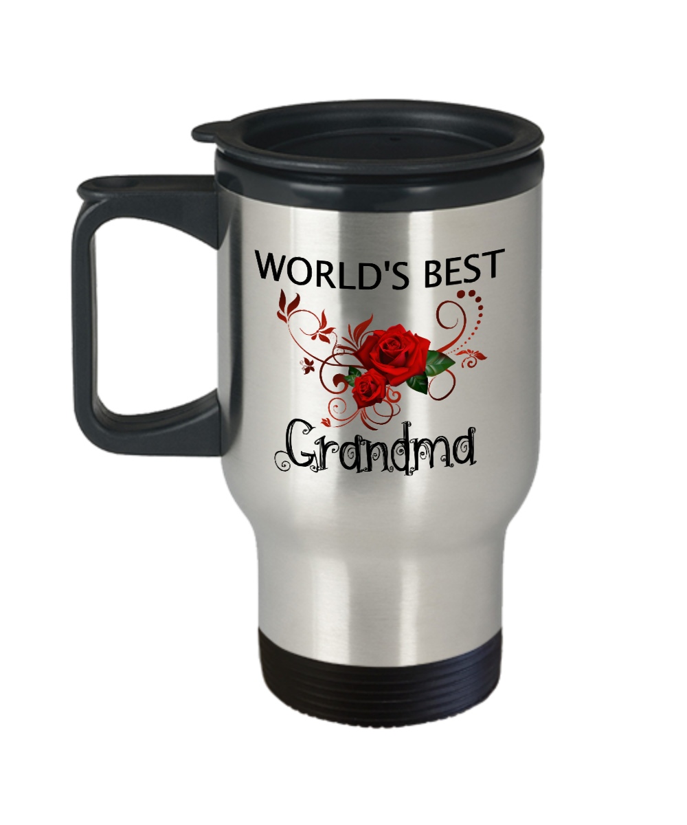 Grandma Gifts - Unique Christmas Gifts Travel Mug - Mother Day Gifts - Grandma Gifts - Worldu0027s Best Grandma  sc 1 st  Quora & What can be innovative and useful gift for grandma who lives in ...