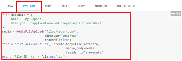 How to upload a file to Google Drive using Python - Quora